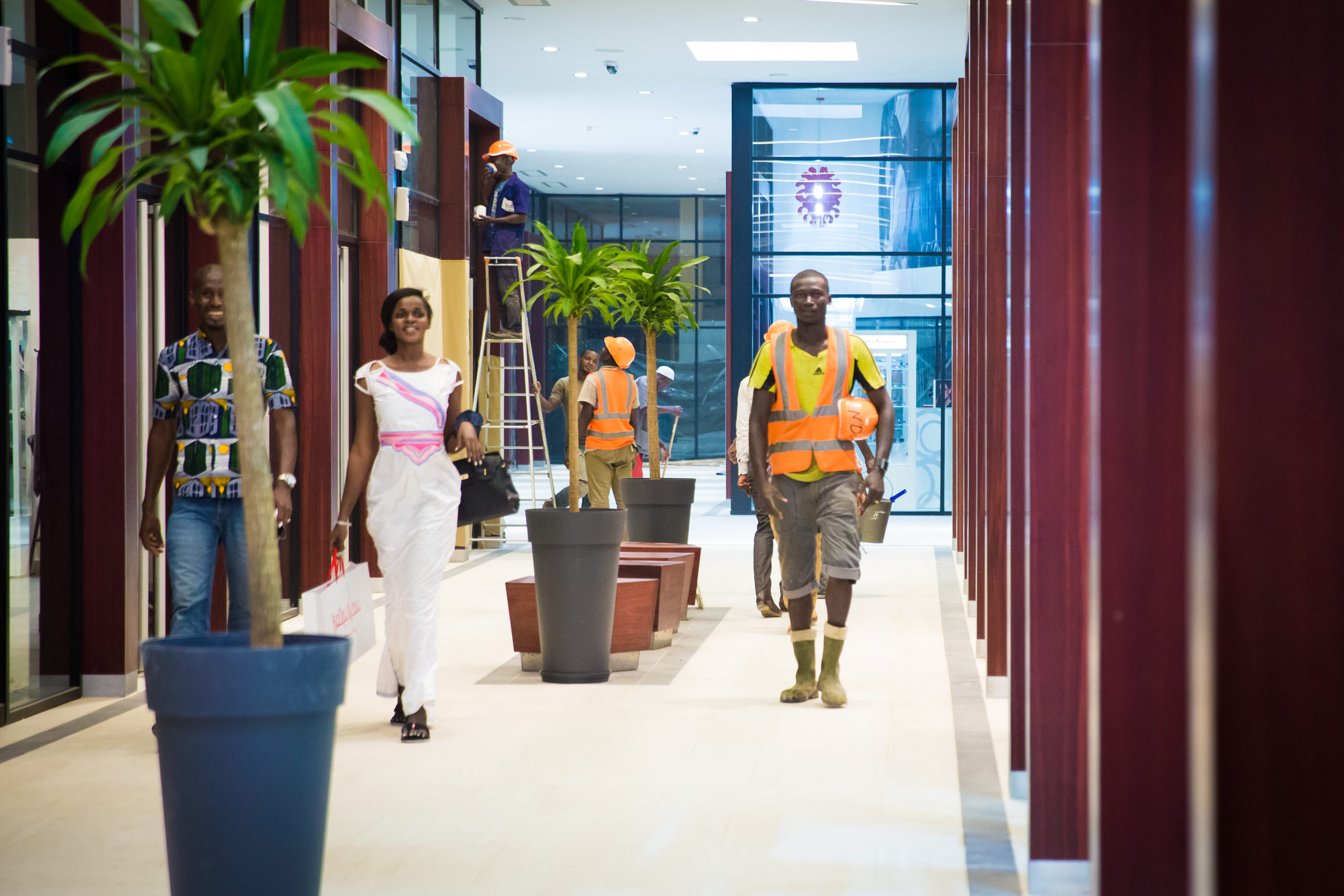 Reportage Bouygues TP Côte d'Ivoire